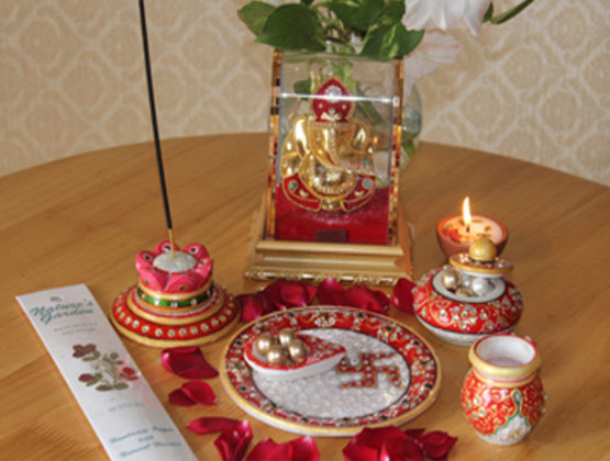 Puja Thali Decoration